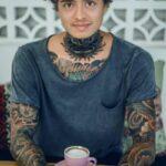 @AmazingLechu Lechu: Solo será un pequeño tatuaje. Lechu más al rato en stream: