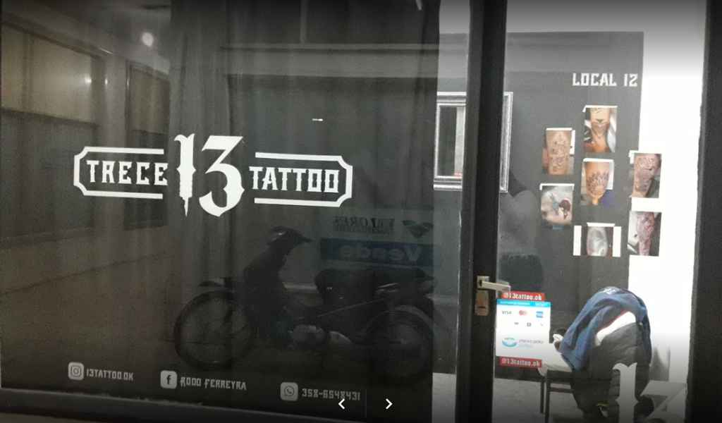 13 tattoo local comercial