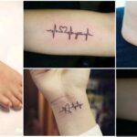 Collage Tatuajes de Electrocardiogramas 1