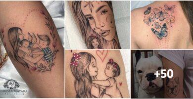 Collage Tatuajes Artista Andressa Mayara Navegantes Brasil