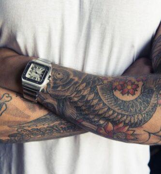 Tatuaje de manga para hombres: más de 140 bocetos de tatuajes masculinos