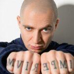 Tatuaje de Oksimiron – todos los tatuajes, su significado y foto