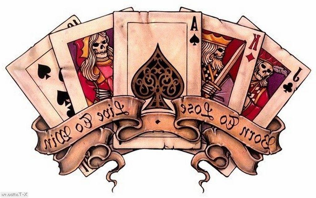 eskizy tatu karty