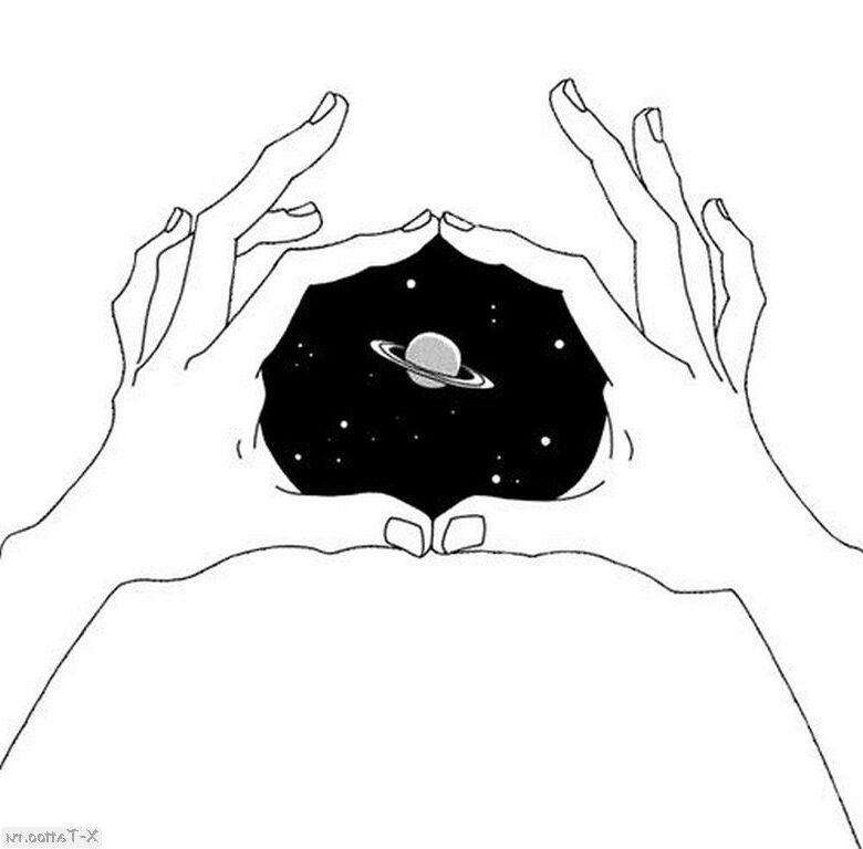 eskizy tatu kosmos