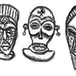 Máscara de tatuaje: bocetos para hombres – mujeres, dibujos interesantes, significados