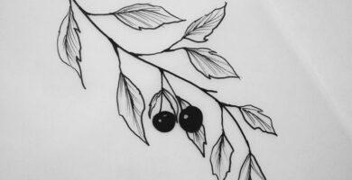 Tatuaje de hojas: bocetos para hombres – mujeres, dibujos interesantes, significados