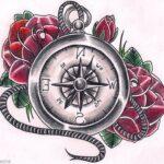Tatuaje de brújula: bocetos para hombres – mujeres, dibujos interesantes, significados