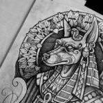 Tatuaje de Anubis: bocetos para hombres – mujeres, dibujos interesantes, significados