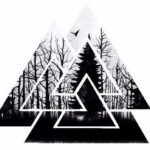 Tatuaje de triángulo: bocetos para hombres – mujeres, ideas geniales, significados