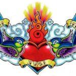 Tatuaje de corazón: bocetos para hombres – mujeres, dibujos interesantes, significados