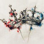 Tatuaje de corona: bocetos para hombres – mujeres, dibujos interesantes, significados