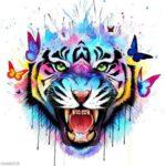 Tatuaje de tigre: bocetos para hombres – mujeres, dibujos únicos, significados