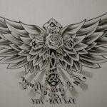 Tatuaje cruzado: bocetos para hombres – mujeres, dibujos únicos, significados
