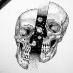 Tatuaje de calavera: bocetos para hombres – mujeres, dibujos únicos, significados