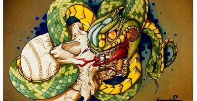 Tatuaje de serpiente: bocetos para un chico – chicas, dibujos únicos, significados