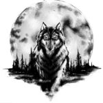 Tatuaje de lobo: bocetos para hombres – mujeres, dibujos únicos, significados