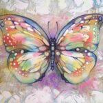 Tatuaje de mariposa: bocetos en blanco y negro y color, dibujos únicos