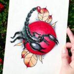 Tatuaje de escorpión: bocetos para hombres – para niñas, dibujos únicos