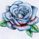 Tatuaje de rosas: bocetos para hombres – mujeres, dibujos interesantes, significados