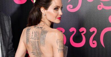 Tatuajes de Angelina Jolie: su significado y foto