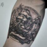 Tatuaje al estilo de grabado + historia, foto y significado de tatuajes