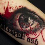 Tatuaje estilo trash polka + historia, significado de bocetos, fotos