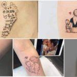 COLLAGE DE Tatuajes de Madres para Hijos. 23 ideas para la piel y el Corazon