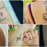 COLLAGE Tatuajes MADRES E HIJOS