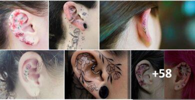 COLLAGE Tatuajes Orejas