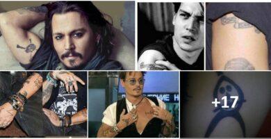 COLLAGE Tatuajes de Johnny Depp