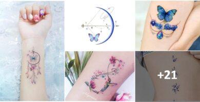 Collage 100 tatuajes realmente Bellos