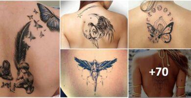 Collage Tatuaje Espalda mujer