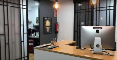 Madrid Art Tattoo recepcion en el studio