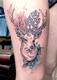 Tatuajes Navidenos reno