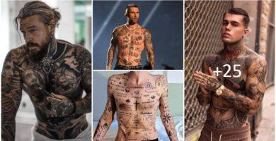 Tatuajes de Famosos Hombres 2