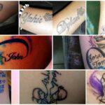Tatuajes de Nombres de Hijos e Iniciales low 1