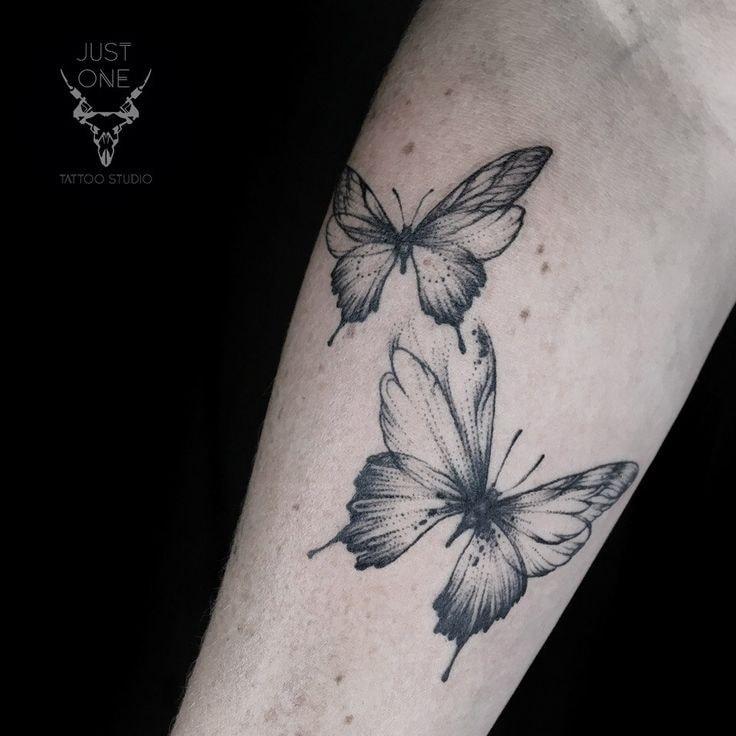 Tatuajes en el Brazo mariposas