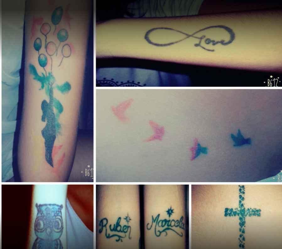 Toxico Tattoo motivos varios