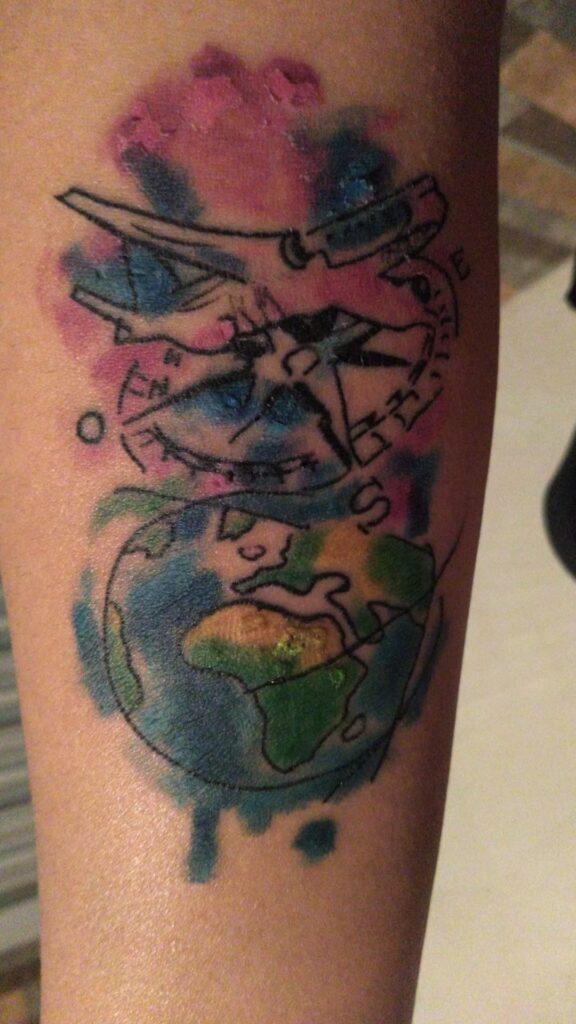 cicatrizacion del tatuaje 4 dias