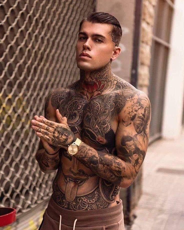 stephen james TATTOO