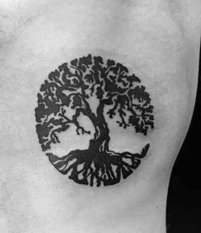 tatuaje arbol hombre significado