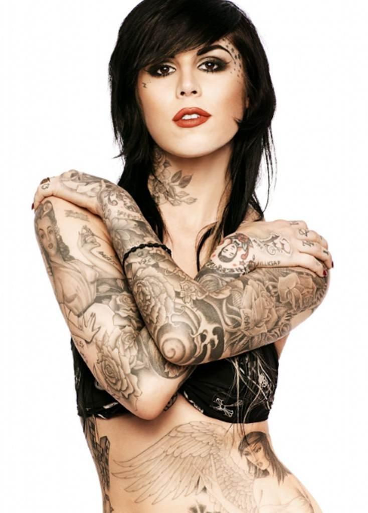 tatuaje cuerpo completo mujer 2