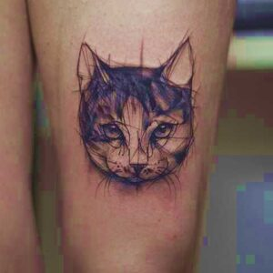tatuajes de gatos para hombres significado