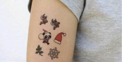 tatuajes de navidad 1
