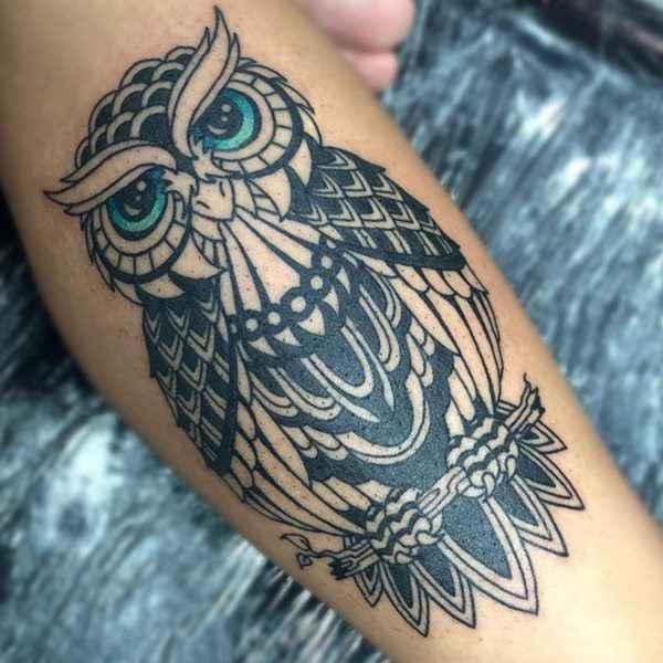 tatuajes y sus significados buho en brazo